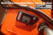 Betriebsstundenzähler ohne Kabel KTM SX 250 # Engine Hour Meter without cable