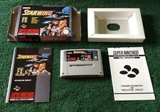 STARWING * ORIGINAL SUPER NINTENDO / SNES GAME * COMPLETE * PAL *