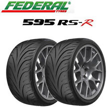2x Federal 595 RS-R Tyres - Track Day/Race/Road - 225/40 ZR18 88W (+ALL SIZES)