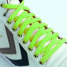 Shoe Laces Flat Coloured Trainer Boot Shoes Short Long Thin New Kids Shoelaces
