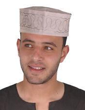 Traditionelle Arabische Herren Kopfbedeckung Fasching Mütze in grau - KB0030