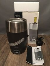 Blinq Portable Wine Chiller Battery Or Power Adaptor Chills Bottle In 7 Minutes