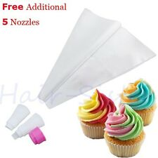 Cupcake Icing Nozzles Bag Set Double Piping 2 Toned Color Swril Decorating Tool