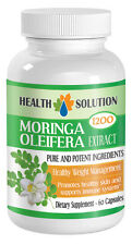 Unique Weight Loss Moringa Oleifera Leaf Extract 1200mg (1 Bottle)