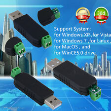USB to RS485 USB-485 Converter Adapter Support For Win7 XP Vista Linux Mac OS XF