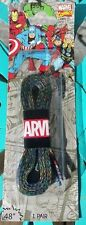 """EXCLUSIVE Loot Crate Collectible Marvel Comics Avengers Printed Shoe Laces 48"""""""