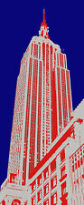 EMPIRE STATE BUILDING USA Architecture Classic Print (Artist signed&numbered)