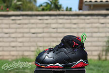 NIKE AIR JORDAN RETRO 7 VII BT TD SZ 3 C MARVIN THE MARTIAN RED BLK 304772 028