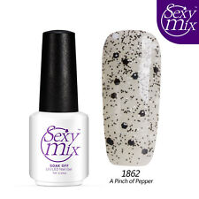 Sexymix Beauty Soak Off Color Gel UV Led Gel Nail Polish Free Postage 7ml
