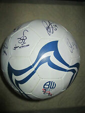 Bolton Wanderers 2012-2013 Squad Signed Football Football League Trust Letter