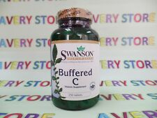 Swanson Buffered Vitamin C with Calcium 500 mg 250 tabs