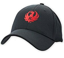 Licensed RUGER cap hat Black Cool Mesh 10/22 mark charger blackhawk lcr redhwak