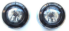 MITSUBISHI OUTLANDER 2010-2012 Front Fog Light Lamps+surround cover frame 1 set*