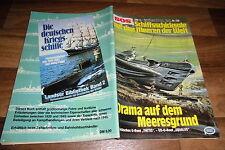 SOS # 128 -- DRAMA auf dem MEERESGRUND / brit. U-Boot: THETIS+US U-Boot: SQUALUS