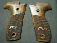 Walther P88 ONLY Fine English Walnut Checkrd w/BannerLogo Pistol Grips FullSize