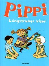 Buch Astrid Lindgren Pippi Langstrumpf Långstrump Visor Lieder Noten schwedisch