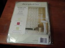 Designables Shower Curtain-Heritage Rose NEW 100% Polyester #1754