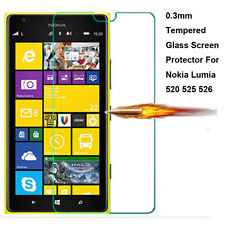 0.3mm Ultra Thin 9H Tempered Glass Screen Protector for Nokia Lumia 520 525 526