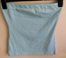 LADIES LIGHT BLUE STRAPLESS TOP JANE NORMAN SIZE 12