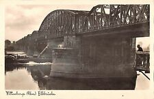 BG34299 wittenberge ellbrucke real photo  germany