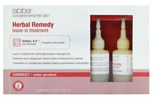 Abba Herbal Remedy Leave-in Treatment  Color Protect 4 x 15ml / 5 oz