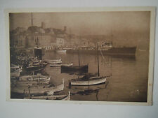Cannes Le Port et le Mont Chevalier Old Postcard France