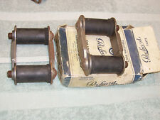 1938-40 Packard 110-120  Rear Spring Shackles. NOS.  Pair.