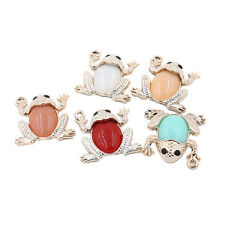 50pcs Cute Acrylic Frog Mixed Color Charms Pendants Findings Jewelry Ornaments L