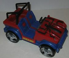 1995 Spider-Man Spider Jeep by Toy Biz Missing Windshield Approx 8.75""