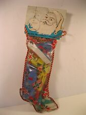 TICO-TOYS CHRISTMAS STOCKING 1950's 5 PLASTIC TOYS SEALED BAG WITH HEADER U.S.A.