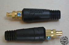 2pcs Quick fitting Plug cable welding connector 10-25mm2 100-200A