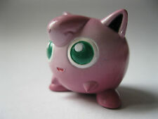 JIGGLYPUFF stamped Tomy Auldey Pokemon PVC Figure about 1.25 inches tall