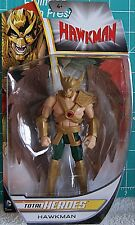 2014 DC Total HEROES JLA ~HAWKMAN~ 6in !NEW! Carter Hall