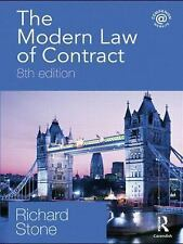 The Modern Law of Contract : Eighth Edition by Richard Stone (2009,...