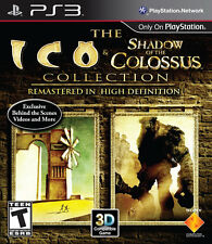 The ICO and Shadow of the Colossus Collection PS3 New Playstation 3