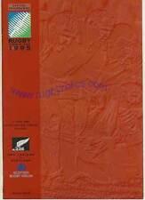NZ v Scotland- quarter final 1995 RUGBY WORLD CUP PROGRAMME