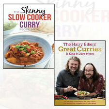 Hairy Bikers' Great Curries and Skinny Slow Cooker Curry Collection 2 Books Set