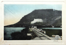 SUBURBS OF CAPE TOWN SOUTH AFRICA  AFRIQUE DU SUD LAKESIDE TRAIN PHOTOGRAVURE