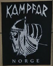 Kampfar Norge Sew On Back Patch NEW OFFICIAL