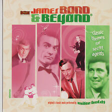 EXCLUSIVE CD! JAMES BOND AND  BEYOND  GREAT! MAN FROM UNCLE OUR MAN FLINT I SPY