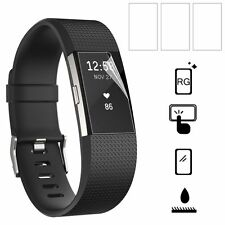 3 x Screen Film Protector For Fitbit Charge 2 Smart Wristband Anti-explosion