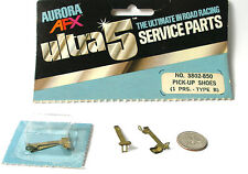 1977 Aurora AFX SpeedSteer Ultra5 PICK-UP SHOES TYPE A Service Part #3803 Bubble