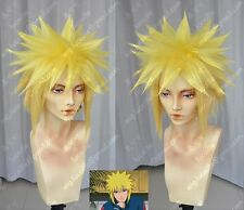 Naruto Namikaze Minato Anime Cosplay Costume Wig +Cap +Track number (need style)