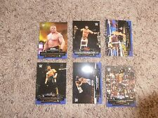 6 2015 CLASSIC MATCHES wwe TOPPS ROAD TO WRESTLEMANIA cards LOT WRESTLING BROCK