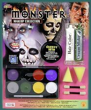 HORROR SCHMINKSET ZOMBIE MAKEUP WITCH PIRATE VAMPIRE MONSTER GRUSEL