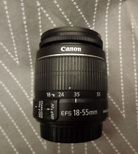 CANON EF-S 18-55mm f/3.5-5.6 II IS Lens - DLSR 80D, 7D, 6D +  MINT COND!!