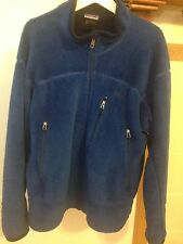 Vintage Patagonia Blue Fleece / Plush Full Zip Jacket Men's Large