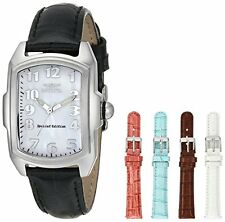 Invicta Women's Lupah Stainless Steel Interchangeable Leather Straps Watch 5168