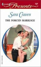 Harlequin Presents~ The Forced Marriage By Sara Craven~2003, VERY GOOD Condition