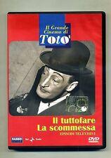 Il Grande Cinema di Totò - IL TUTTOFARE-LA SCOMMESSA # Fabbri Editore DVD 2005